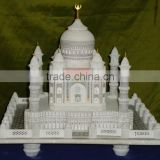 Most Beautiful Statues in the World Marble Taj Mahal, Real Handmade Marble Tajmahal, Luxury Birthday Gift of Tajmahal Statue