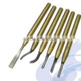 6PC Burr Tool Set for Carpenter Tools or Hand deburring Tools