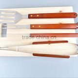 3pcs Stainless Steel Metal BBQ Grill Spatula set