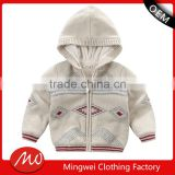 2017 cheap china knitted hoodies coat sweaters for new born baby