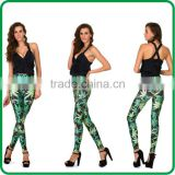 The new 2014 hot women leggings cultivate one's morality Digital printing star pants Free shipping