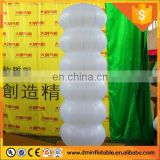 small white wedding inflatable pillars