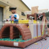 inflatable pirate obstacle