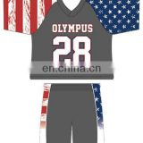 custom lacrosse uniforms sublimation lacrosse uniform