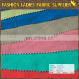 2015wholesale high quality 100%rayon crepe plain dyed fabric