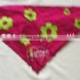 Printed Triangular Girls Bandana with string