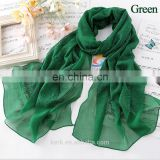 Hot Sale Plain Glitter Sparkle Muslim Hijab Solid Color Maxi Shimmer Shawl Women Scarves