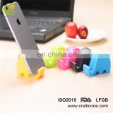Fashion cartoon elephant silicone tablet computer holder &PPC mobile phone holder/Stents