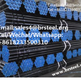 Seamless steel pipe for pipeline transportation systems and petroleum and natural gas industrials