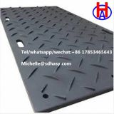 Heavy duty mud ground protection mat/plastic road panel with customized logo High Quality Construction Ground Mats