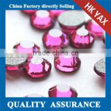 12 Facets high quality dmc hotfix rhinestone crystal,crystal hotfix rhinestone DMC flatback hotfix stone in bulk for garment