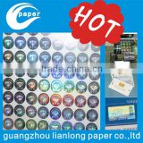 Tampering with clear 2 d / 3 d id the hologram of the holographic label anti-counterfeiting holographic label sticker factory cu