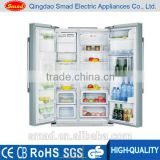 Total frost-free design Side by side no frost refrigerator with icemaker, water dispenser&mini bar