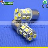 car led strobe light special led stop brake lighting cr ee led car bulb 2.5w 1156 5050 w5w 13smd