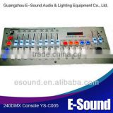 240 DMX Console stage lighting equipment /Computer Light controller/dmx lighting consoles