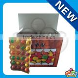 fruit chocolate bean tablet candy