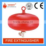 2016 China new hanging automatic 6kg abc dry chemial powder fire extinguisher with valve