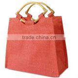 Promotion hessian handle bag