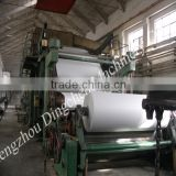 3600 mm fourdrinier and multi-cylinder high production newspaper office paper writing paper making machinery, paper machine mill