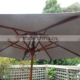 9foot wooden Outdoor Umbrella for Garden Patio Market Shade