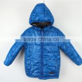 Boy's new design 100%polyester reversible padded jacket