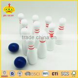 professional and high quality wooden bowliing set garden bowling set indoor and outdoor bowling set mini bowling set