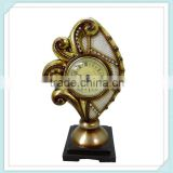 China Hot Sale New Design Round Shape Resin Clock
