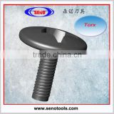 torx bolt M3.5*10, screw for toolholder and insert, torx hex flange head bolt, m6 hex head bolt