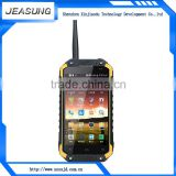 MTK6582 quad core 1280*720 dual sim waterproof android rugged phone walkie talkie mobile phone