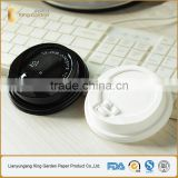12oz coffee cup button black dome lids