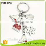 manufacture of car shaped keychain Wholesale shoe keychain and custom house shaped keychain