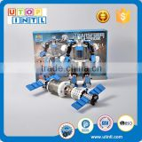 High quality intelligent toy 2 in 1 DIY a robot or a satellite building blocks                                                                                                         Supplier's Choice
