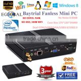 Cheapest Mini PC HTPC Baytrail Intel Celeron Dual Core j1850 barebone system laptop computer windows8 Intel HD Graphics
