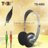 China wholesale best selling item computer accessory power bass headphones lightweight PC headphones for computer game
