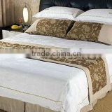 Decorative bed runner for hotels