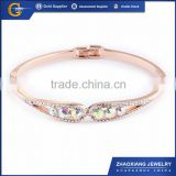CCB0017 new products 2015 fashion design 316l stainless steel jewelry, CZ Stone & Crystal Bracelets / Bangles