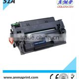 Premium quality compatible laser jet toner Cartridge Q7551A Laser Printer Cartridge for HP Printers bulk buy from china