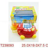 Electric cartoon phone baby musical telephone toy