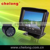 high definition 3.5 inch LCD with car camera 7 car rearview monitor with usb sd bluetooth