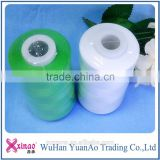 100 % spun polyester Sewing Thread for Sewing Handbags and socks manufacturer with cheap price