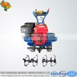 Hand walking tractor tiller use soil ploughing machine