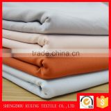 Wholesale woven double gauze fabric polyester cotton lycra spandex fabric