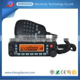 Large screen display and dual band watch ham mobile radio and walkie talkie support multi-scan modes