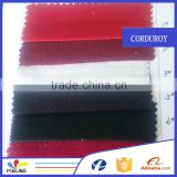Wholesale high quality 14 wale elastic corduroy fabric for underwear wholesale