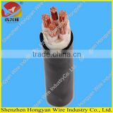 single core 2 core 3 core 4 core 5 core power cable medium voltage cu / xlpe / pvc cable