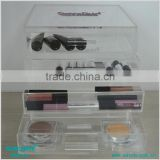 Transparent 6 Drawers Clear Acrylic Makeup Organizer With Drawer Acrylic Store Box For Makeup