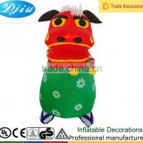 DJ-519 red Happy cow inflatable decorations outdoor stands