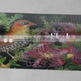 Lenticular plastic 3d animal beautiful bookmarks