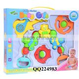 Hot neonate toys baby bell ,plastic baby rattle set ,Baby rattle,newborn toys baby gift set