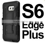 Hybrid Hard Armor Rugged Cell Phone Case For Samsung Galaxy S3 S4 S5 S6 S6 Edge Plus Stand Back Cover